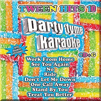 Party Tyme Karaoke - Tween Hits 10 (8+8 S [CD] USA import