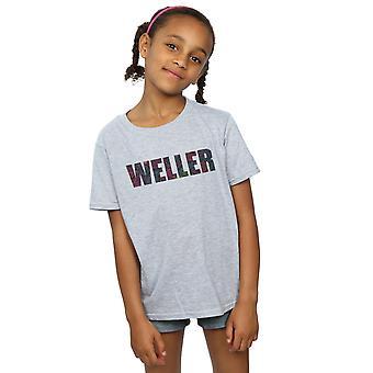 Paul Weller Girls Paisley Logo 2 T-Shirt
