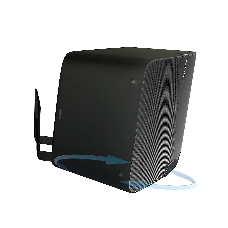 Vebos wall mount Sonos Play 5 gen 2 rotatable black 20 degrees