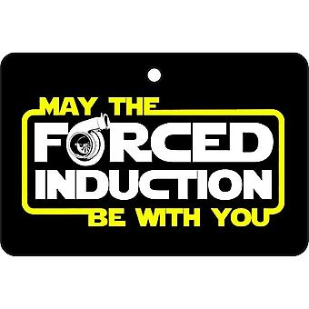 May The Forced Induction Be With You Car Air Freshener