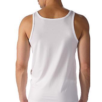 Mey 34200-101 Men's Network White Solid Colour Tank Vest Top