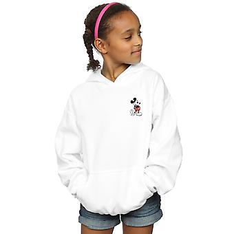 Disney Girls Mickey Mouse Kickin Retro Göğüs Hoodie