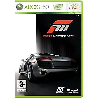 Forza Motorsport 3 (Xbox 360)-ny