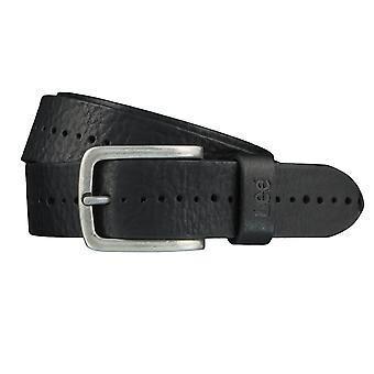 Lee belts men's belts leather belt black 3975