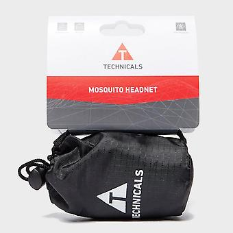 New Technicals Mosquito Headnet Outdoors Camping Black