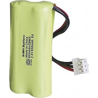 GP Batteries GP65AAAH2BMX-8785 Cordless phone batteries Suitable for brands: Philips NiMH 2.4 V 650 mAh