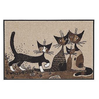 Serafino en vrienden Rosina Wachtmeister wasbaar vloer mat
