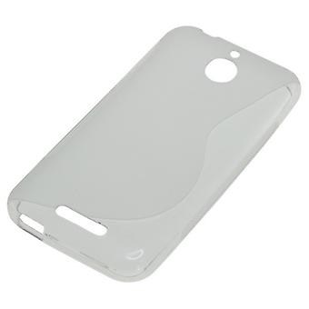 OTB TPU cas compatible pour HTC désir S 510-courbe transparent