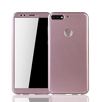 Huawei kunnia 7C tapauksessa asia koko suojus säiliö suojaa lasi rose