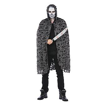 Zombie Halloween horror Halloweenumhang Cape kostyme for menn