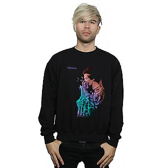 Jimi Hendrix Men's In Concert Gradient Sweatshirt