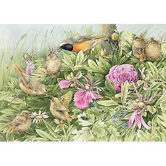 Schmidt Marjolein Bastin: Feast In The Meadow Jigsaw Puzzle (1000 Pieces)