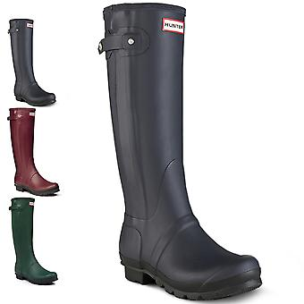 Womens Hunter Original Slim Two Toned Wellington Festival Snow Rain Boots