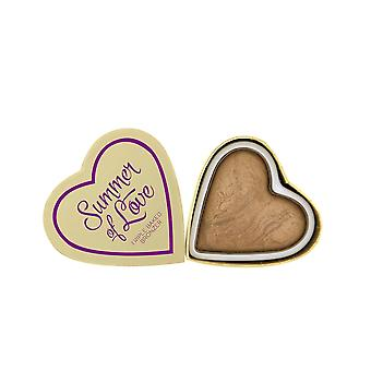 Makeup Revolution Blushing Hearts-Summer of Love Bronzer