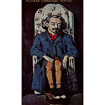 Portrait of Achille Emperaire, Paul Cezanne, 60x40cm