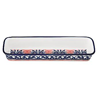 Ladelle Fiesta Red Rectangle Dish