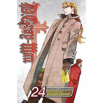 D. Gray-Man - 24 by Katsura Hoshino - 9781421563121 Book