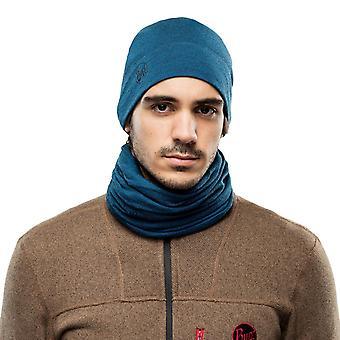Buff Mid Wool Şapka ~ Orta Sıklet Okyanus melanjı