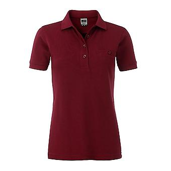 James and Nicholson Womens/dames Workwear Pocket Polo