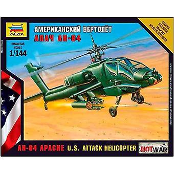 Zvezda 500787408–1: 144AH-64Apache US Smart Helicopter
