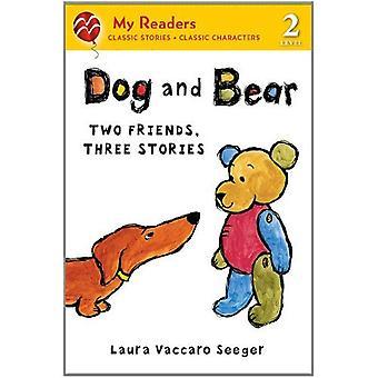 Hund und Bär: zwei Freunde, drei Geschichten (meine Leser - Stufe 2