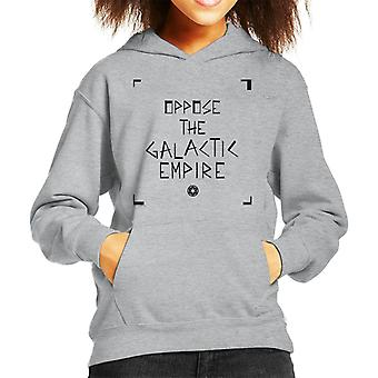 Star Wars Oppose The Galactic Empire Kid's Hooded Sweatshirt