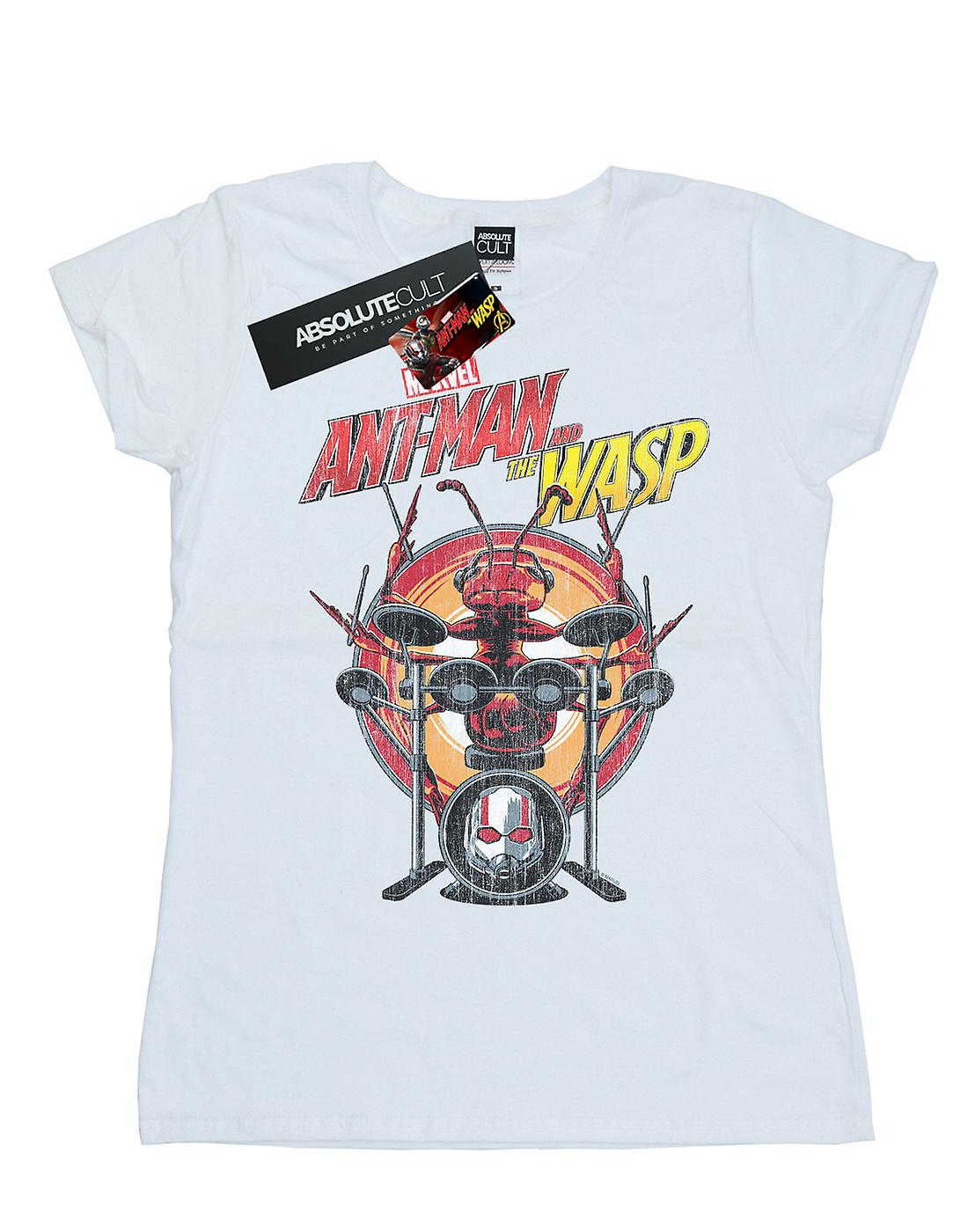 Marvel Women's Ant-Man And The Wasp Drummer Ant T-Shirt