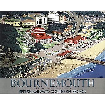 Podkładka pod mysz Bournemouth (stare kolejowych ad) (se)