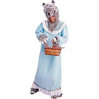 Granny Wolf Costume For Adults