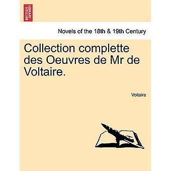 コレクション Complette デ オードブルユニーク デ氏・ デ ・ ヴォルテール。ヴォルテールの