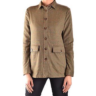 Peuterey Ezbc017047 Women's Green Wool Shirt