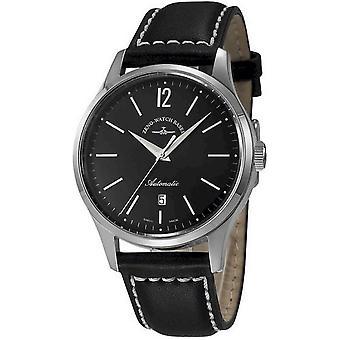 Zeno-watch mens watch event gentleman automatic 43 6564-2824-g1 black