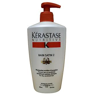Kerastase Nutritive Bain Satin 2 Irisome Dry and Sensitized Hair 16.9 OZ