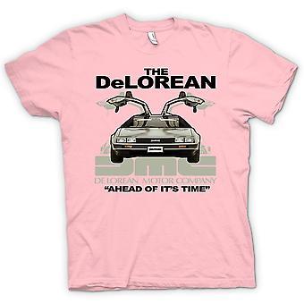 Womens t-shirt - DeLorean - à frente de seu tempo