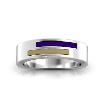 James Madison University Foundation Ring In Sterling Silver Design by BIXLER