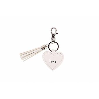 Sent And Meant Love Heart Keyring
