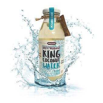 Praana King Coconut Water-350 ml-64 Kcl per flaske