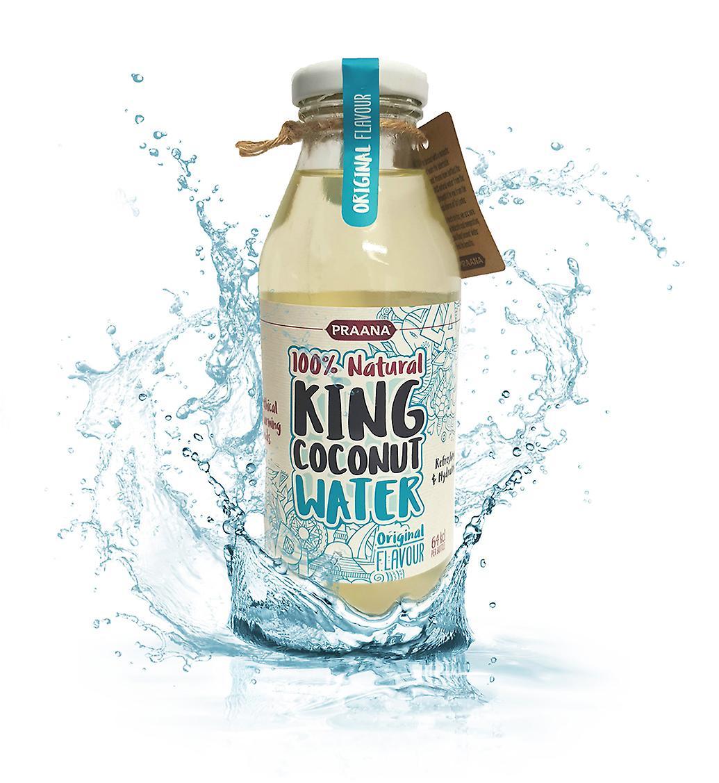 Praana King Coconut Water - 350 Ml - 64 Kcl Per Bottle