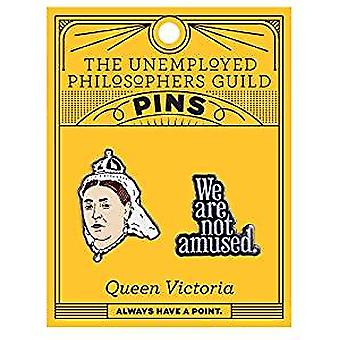Pin Set - UPG - Queen Victoria and We Are Not Amused 5100