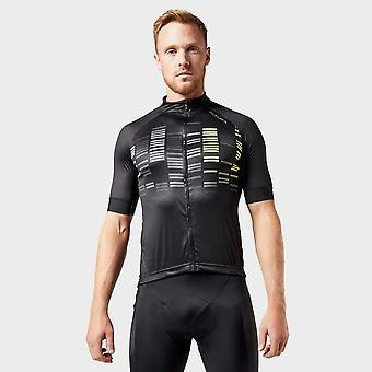 Nuova Altura Uomini's Icon Odyssey Cycling Jersey Black