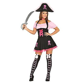 Womens divertente Pirate Fancy Dress Costume