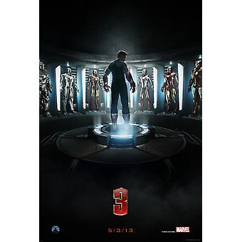 Iron Man 3 Poster Double Sided Advance (2013) Original Cinema Poster