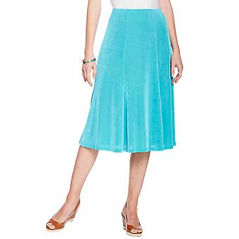 Amber Ladies Slinky Skirt