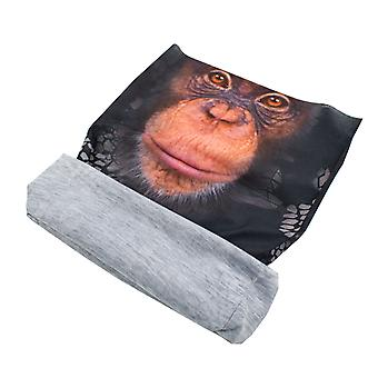 TRIXES Animal Design Bandana Snood Monkey Multi-Functional Kopftragen