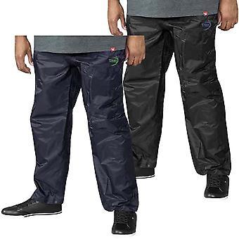 Duke D555 Hombres Elba Grande Alto Packaway Lluvia impermeable sobre pantalones Fondos