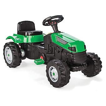 Pilsan Children's Tractor Active Pedale 07314 green, adjustable seat, from 3 years