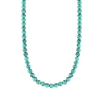Ti Sento Poolside reflections 3916TQ-42 - necklace silver necklace and turquoise wife stones