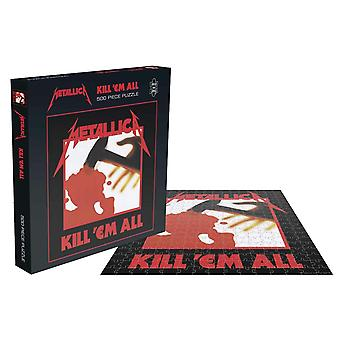 Rocksaws - metallica - kill'em all - 500pc jigsaw puzzle