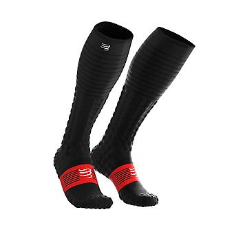 Compressport Full Socks Race & Recovery - Black