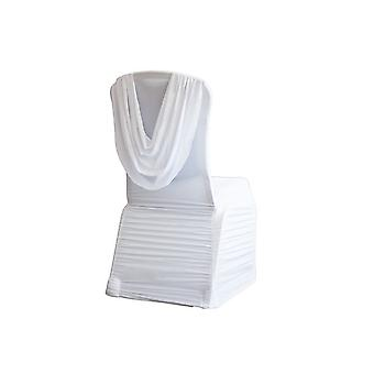 Ruched Swag Back Wedding Chair Covers